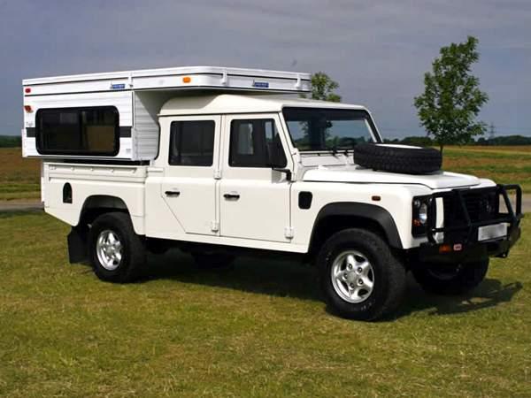 Moose Wohnkabine für Land Rover