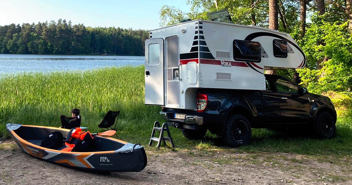 Voka 200 - Der günstige Einstieg in das Pickup Camping